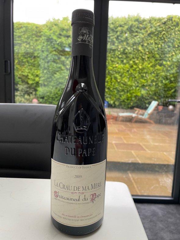 Vignobles Mayard Chateauneuf-du-Pape La Crau de Ma Mere