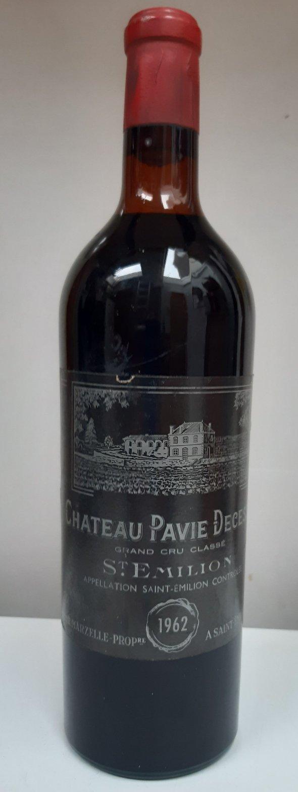 Chateau Pavie Decesse 1962, Grand Cru Classe, Saint Emilion.