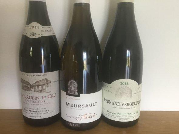 2013 White Burgundy Mixed Pack