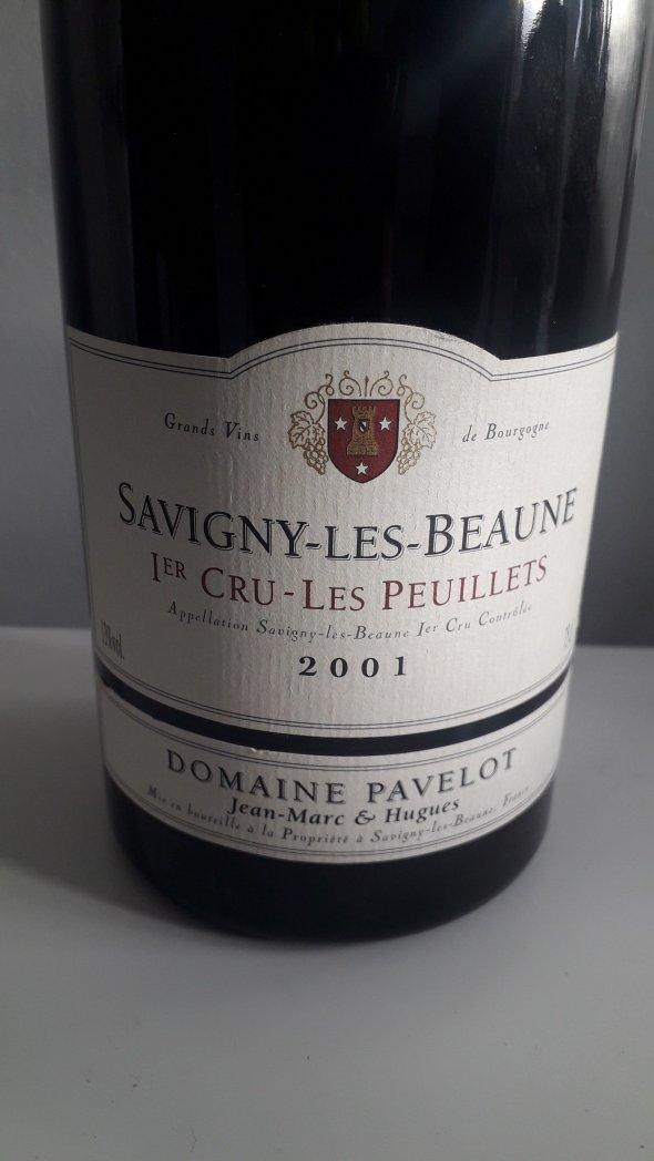 Domaine Pavelot, Savigny-les-Beaune Premier Cru, Les Peuillets