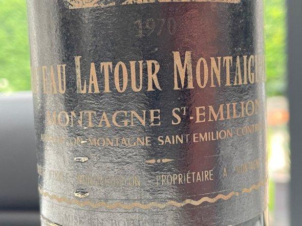 Chateau Latour Montaigullion Montagne St Emilion