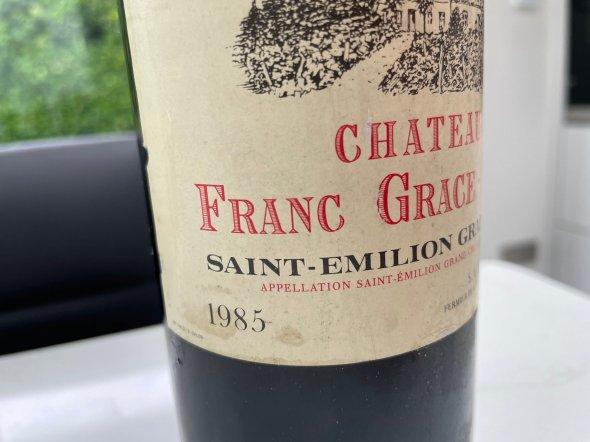 Chateau Franc Grace-Dieu, Saint-Emilion
