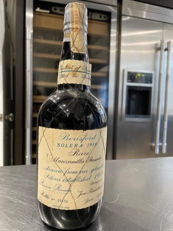 beresford solera rare manzanilla sherry riserva privada