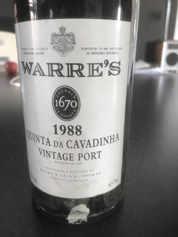 Warre's, Quinta da Cavadinha Vintage Port