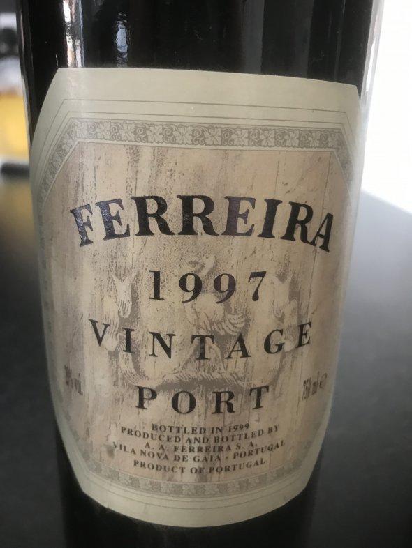 Ferreira, Vintage Port