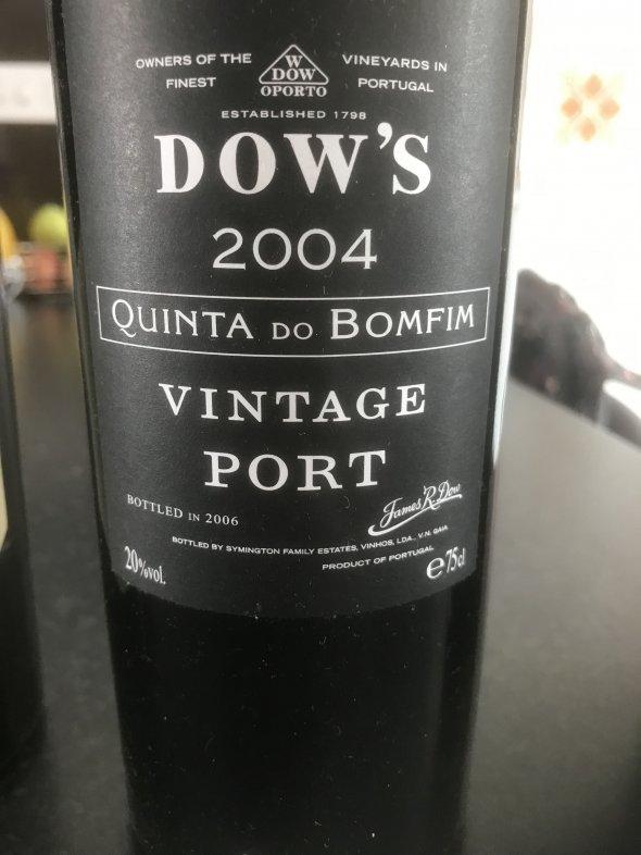 Dow's, Quinta do Bomfim Vintage Port