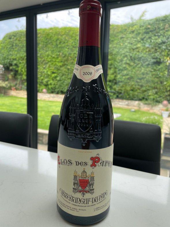 Clos des Papes, Chateauneuf-du-Pape, Rouge