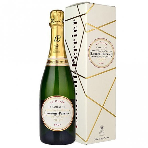 Laurent Perrier La Cuvee Brut Champagne 75cl Gift Boxed