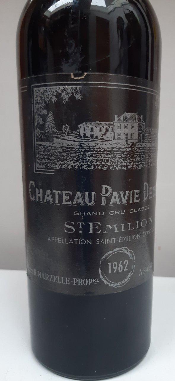 Chateau Pavie Decesse Grand Cru Classe, Saint-Emilion 1962