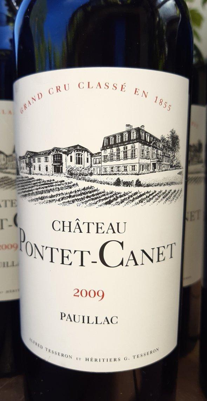 Chateau Pontet-Canet, Pauillac, 2009 100 Parker Points