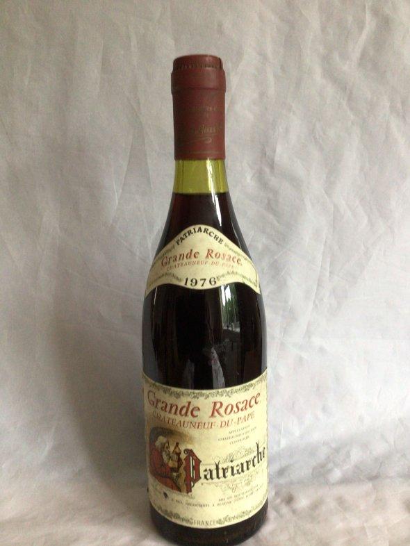 Grande Rosace Chateauneuf Du Pape 1976
