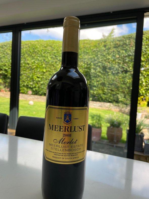 Meerlust, Merlot, Stellenbosch