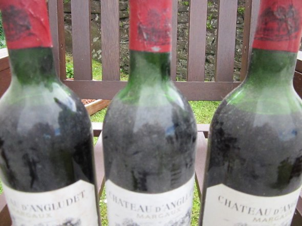 Three Bottles Chateau d'Angludet, Margaux 1983