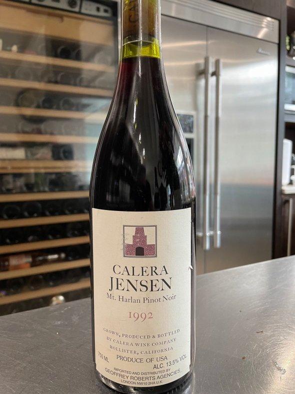 Calera, Jensen Vineyard Pinot Noir, Mt. Harlan