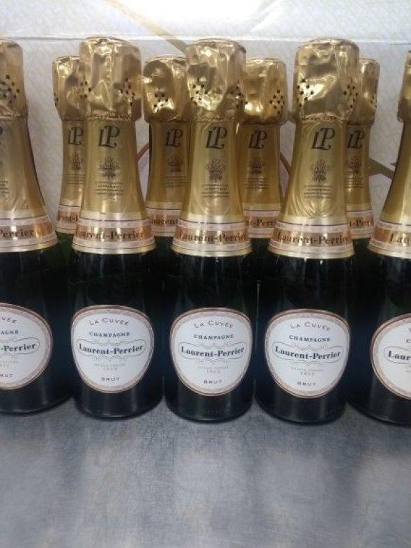 Laurent Perrier, Brut NV - 20cl bottles