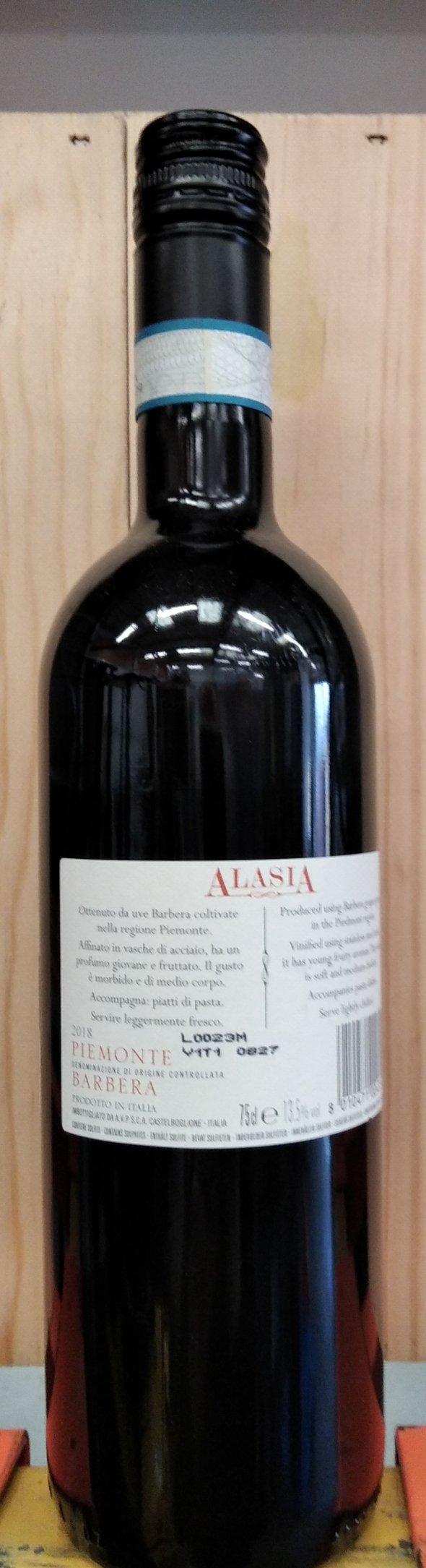 Araldica, Barbera d'Asti, Alasia