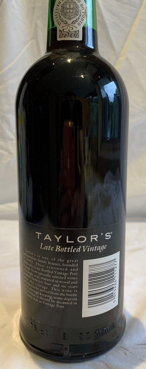 Taylor's, Late Bottled Vintage Port