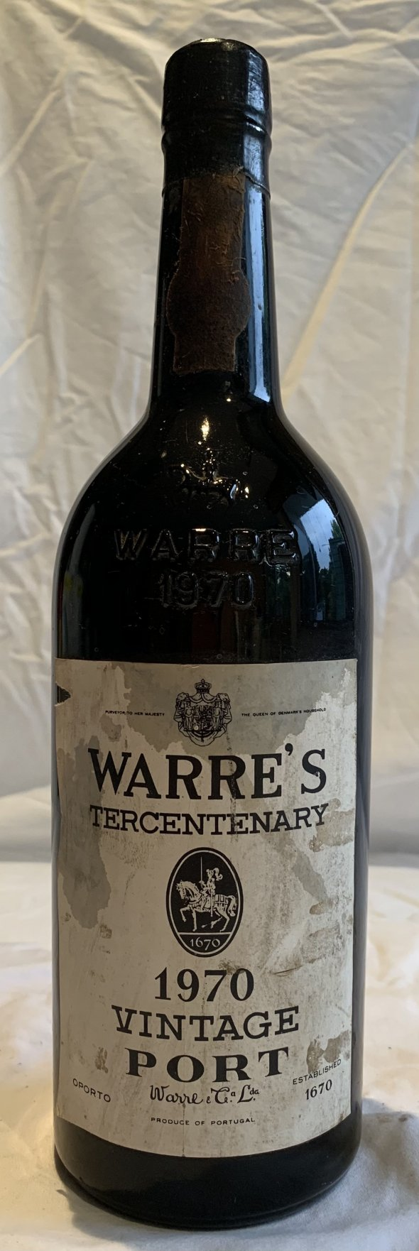 WARRE's Tercentenary 1970 Vintage port
