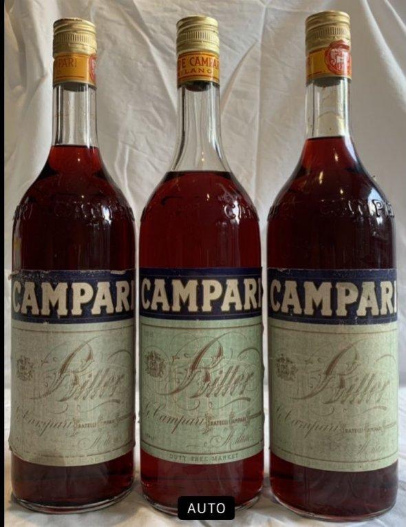 Campari Bitter [old bottling] x 3