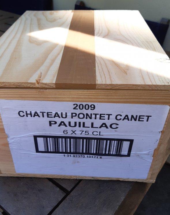 6 x Chateau Pontet Canet OWC 100/100 Parker Points