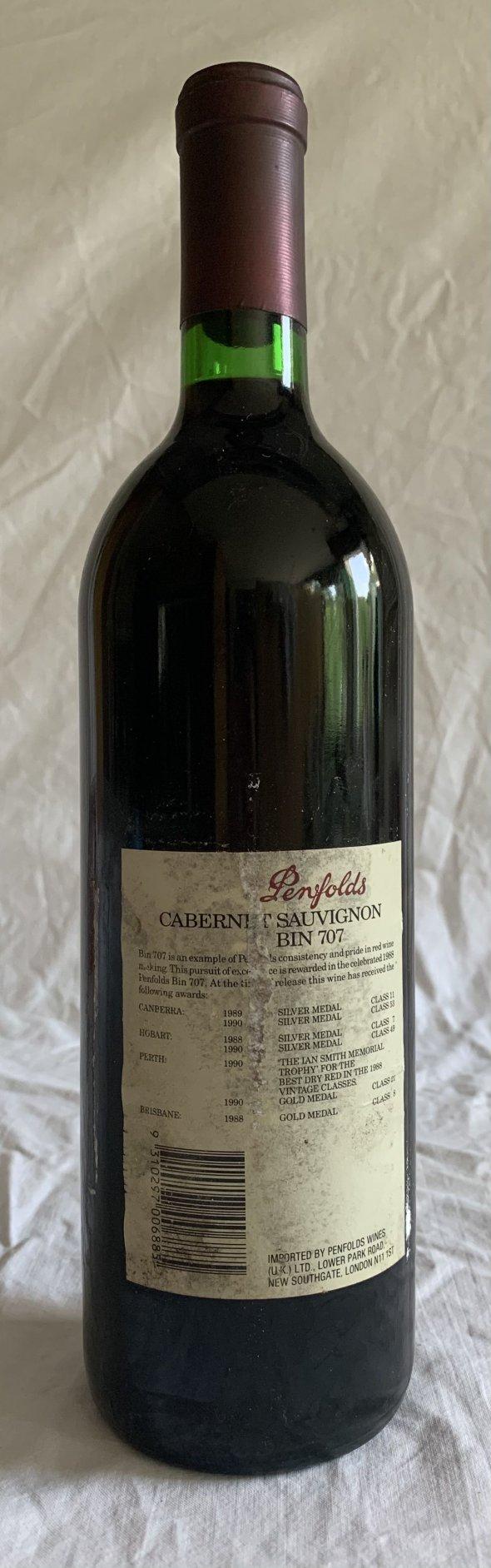 Penfolds Cabernet Sauvignon Bin 707