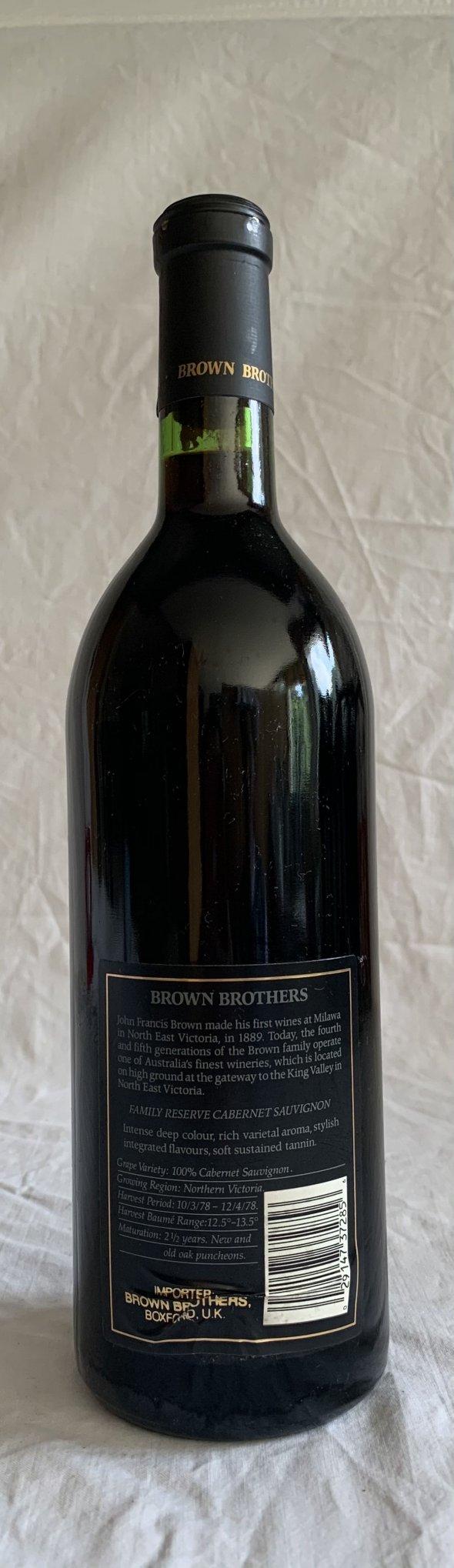 Brown Brothers, Cabernet Sauvignon, Victoria