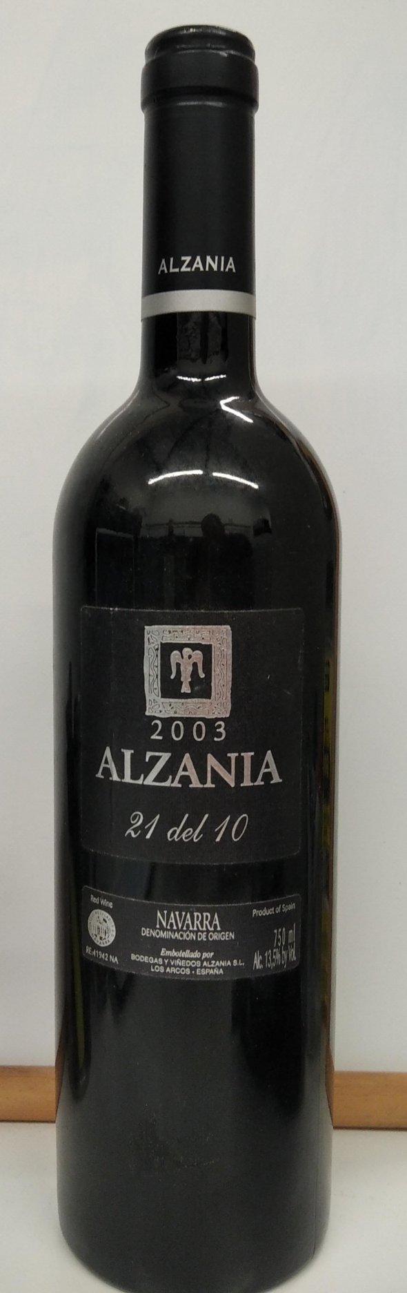Alzania, 21 del 10, Navarra