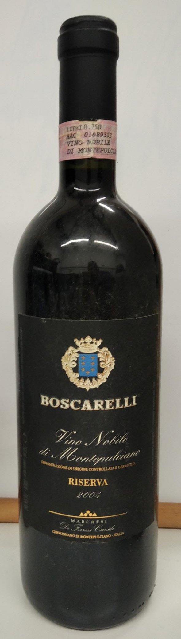 Vino Nobile di Montepulciano, Riserva, Boscarelli