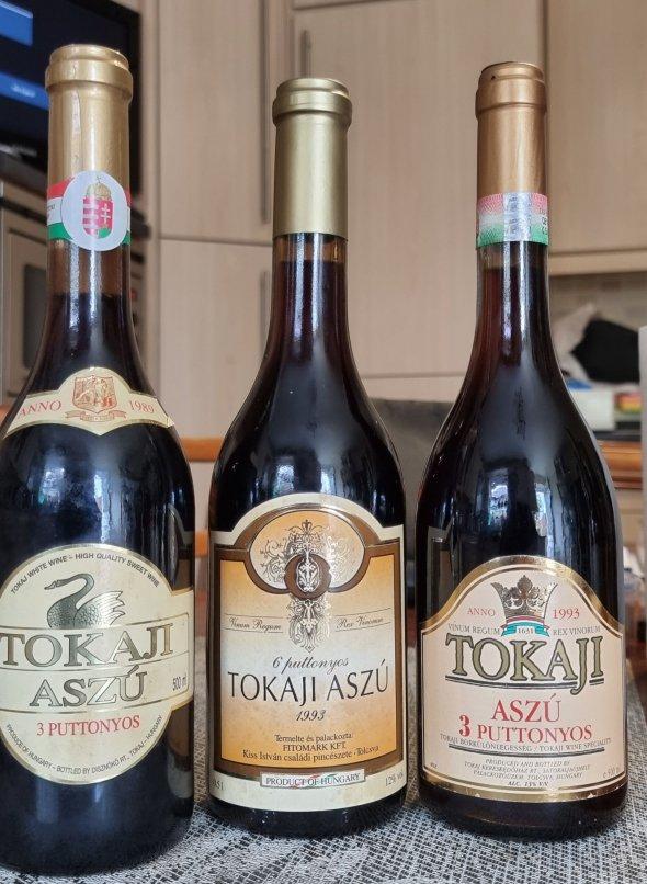 Tokaji Aszu Wine Selection