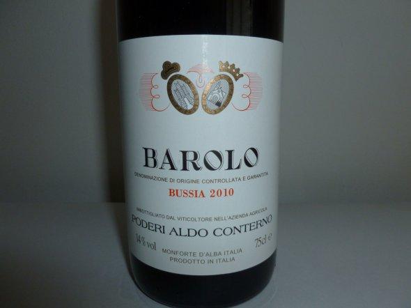Conterno Bussia Barolo