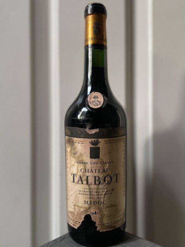 1961 Chateau Talbot 4eme Cru Classe, Saint-Julien