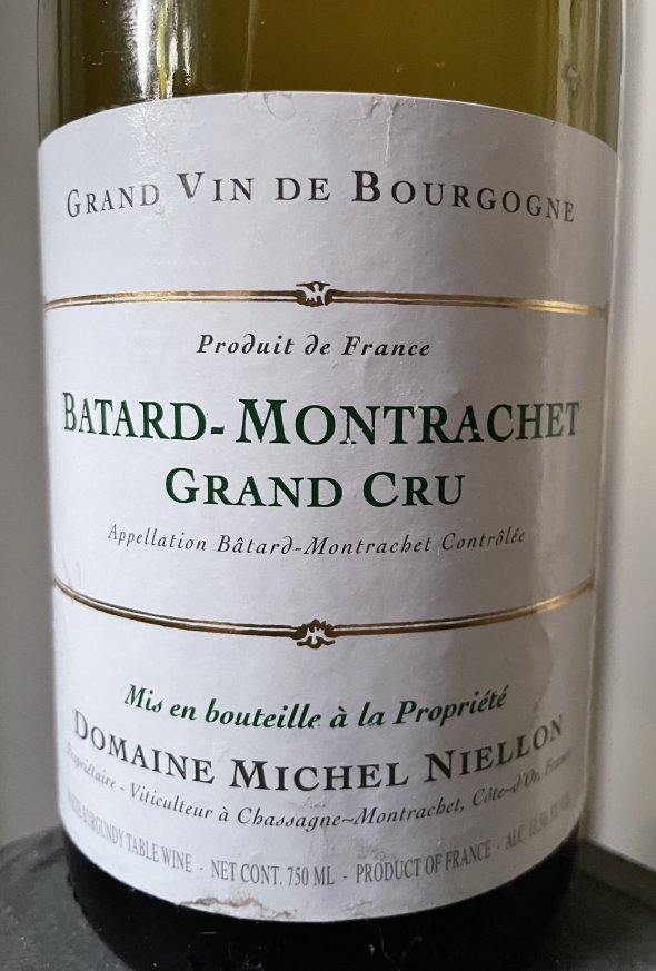 2011 Domaine Michel Niellon, Batard-Montrachet Grand Cru