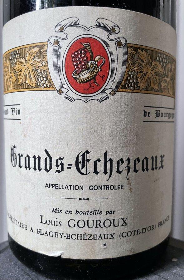 1976 Louis Gouroux, Grands Echezeaux Grand Cru