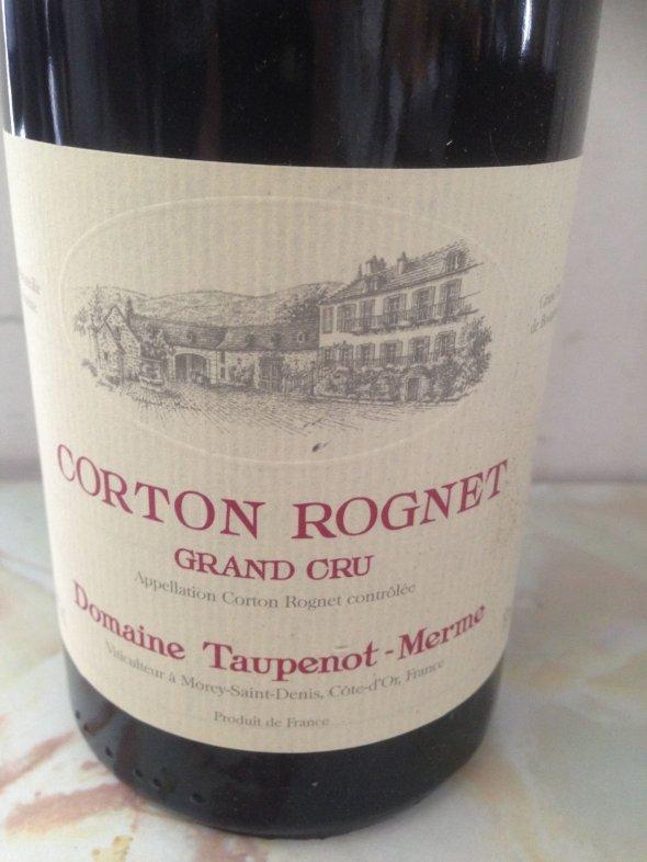 Domaine Taupenot-Merme, Corton Grand Cru