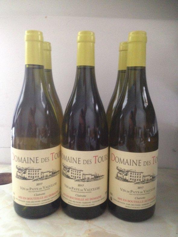 Domaine des Tours Blanc Vin de Pays du Vaucluse, Emmanuel Reynaud 2017