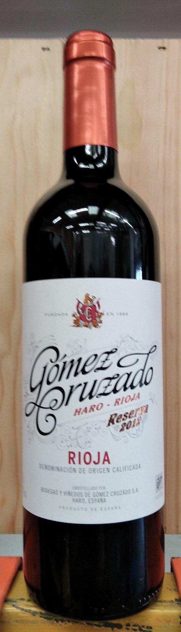 Rioja Reserva, Gómez Cruzado
