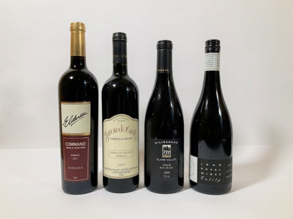 A Mixed Lot of Australian Reds from Barossa Valley & Clare Valley, 2001, 2003, 2006