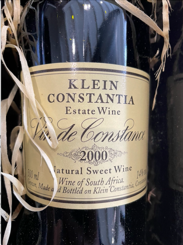 Klein Constantia, Vin De Constance, Constantia