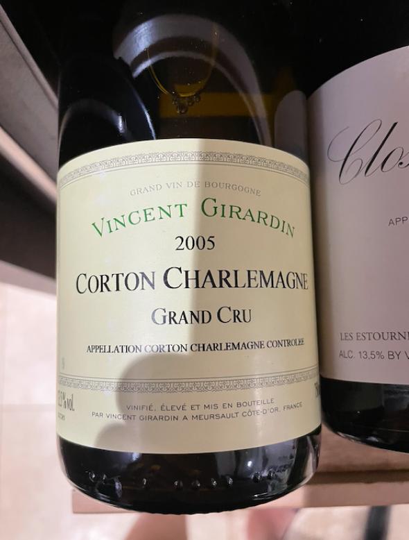 Vincent Girardin, Corton-Charlemagne Grand Cru, Vieilles Vignes