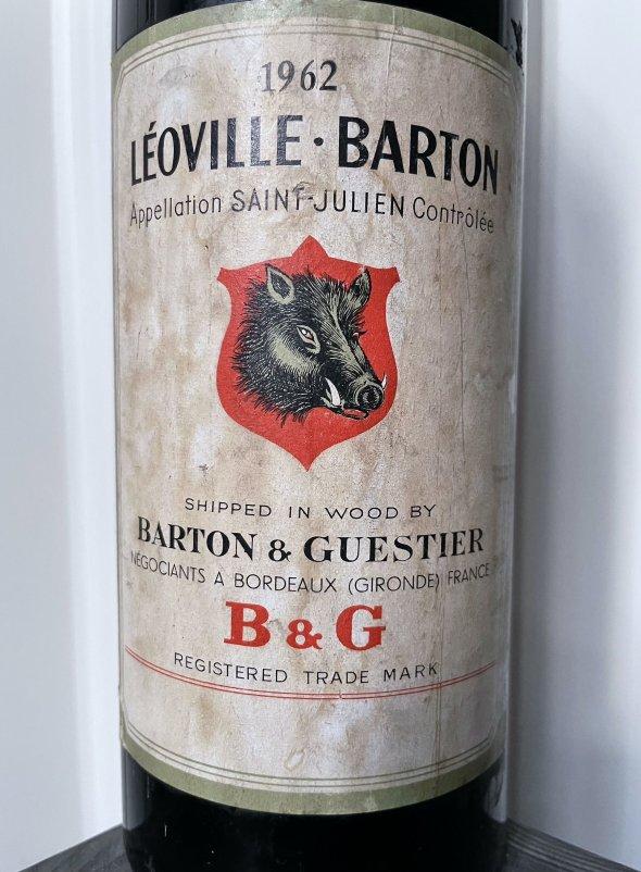 1962 Chateau Leoville Barton 2eme Cru Classe, Saint-Julien