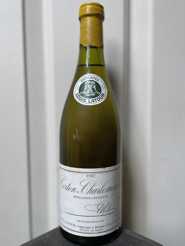 1987 Maison Louis Latour, Corton-Charlemagne Grand Cru