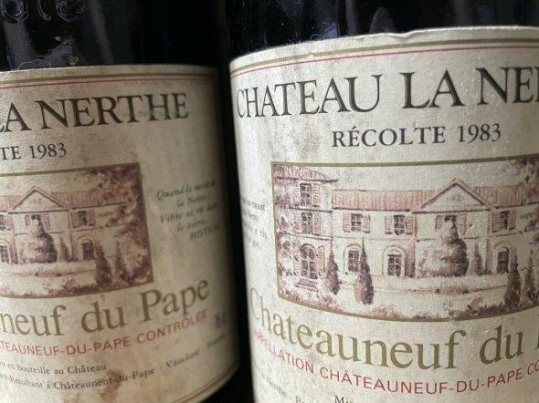 1983/1989 Chateau La Nerthe, Chateauneuf-du-Pape