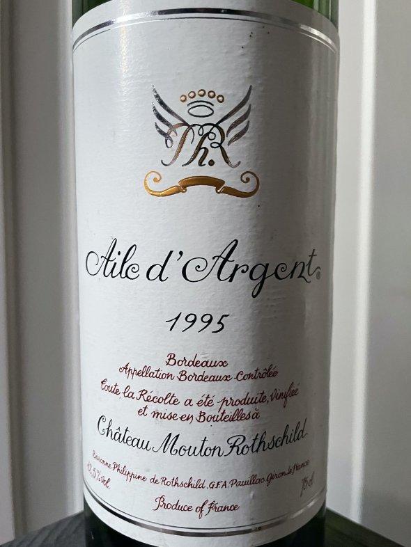 1995 Aile d'Argent, Chateau Mouton Rothschild