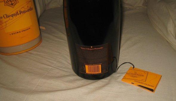 Veuve Clicquot Ponsardin.  1.5L  In Ice Jacket.