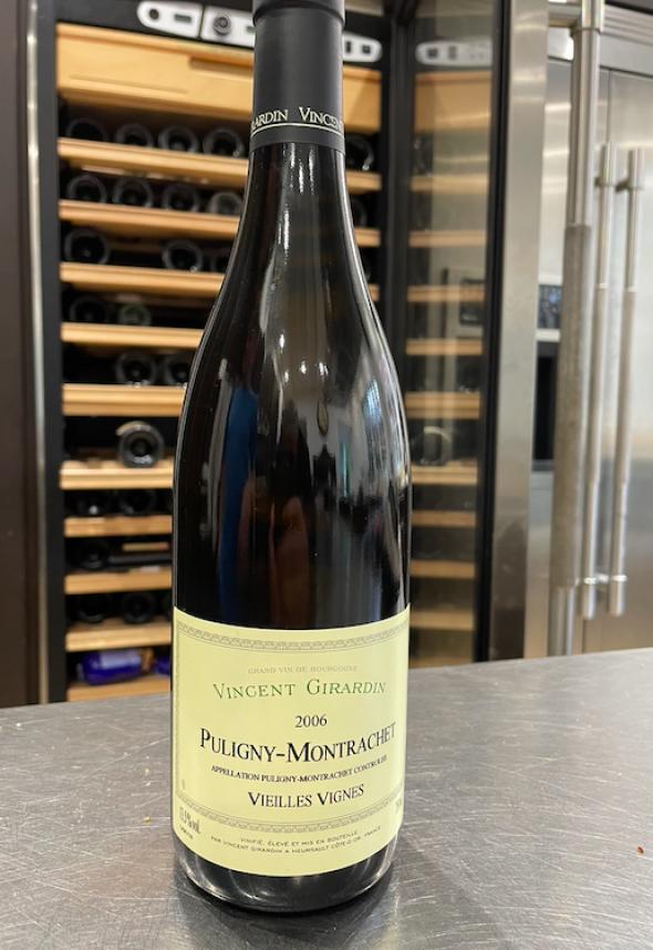 Vincent Girardin, Puligny-Montrachet Premier Cru, Le Cailleret Vieilles Vignes