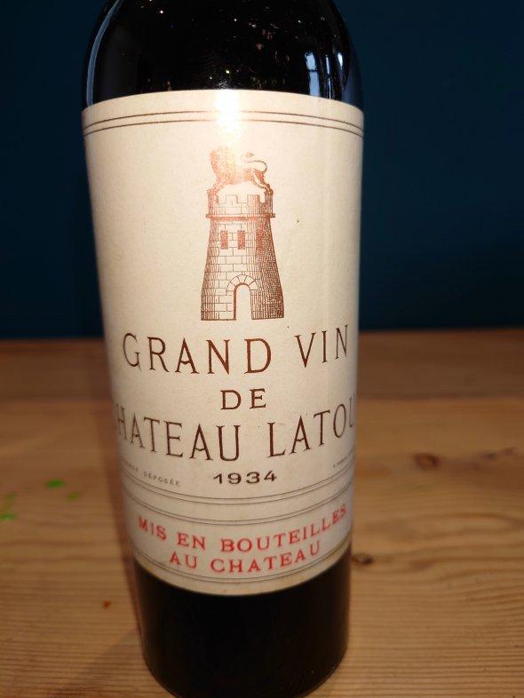 Chateau Latour Premier Cru Classe, Pauillac