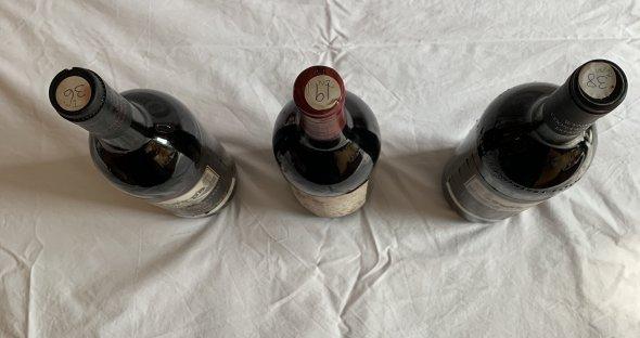 Australian Wynns, Mildara fine wine assortment X3