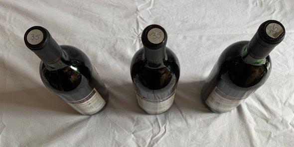Shottesbrooke Winery Australia 1986 X3