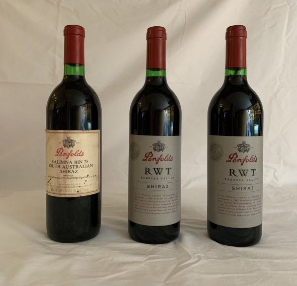 Penfolds fine wine collection X3