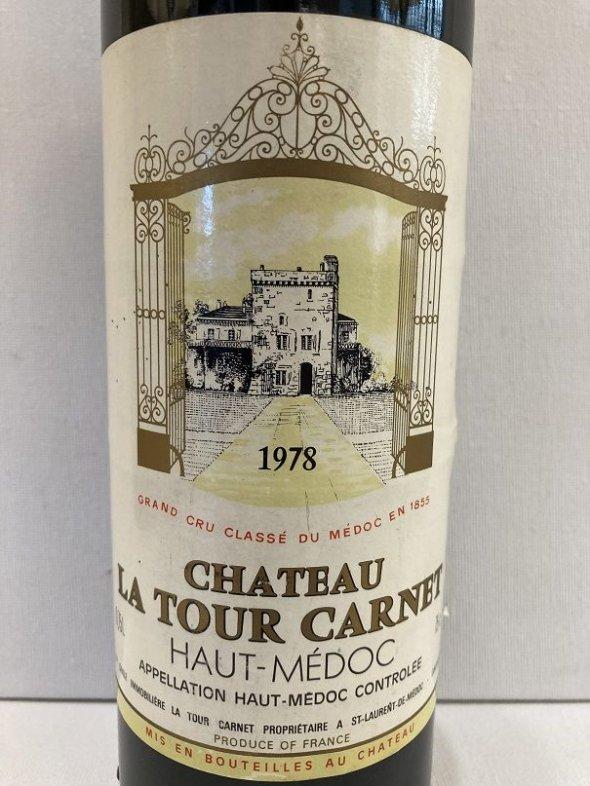 Chateau La Tour Carnet 4eme Cru Classe, Haut-Medoc